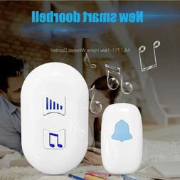 Wireless Doorbell Kit 35 Tunes Chimes Tune Loud Bell Chime B
