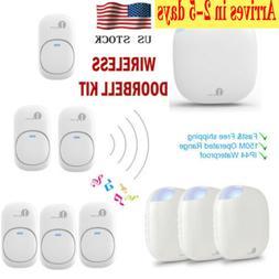 1byone Wireless Doorbell Kit Digital Electric 36 Chimes Ring