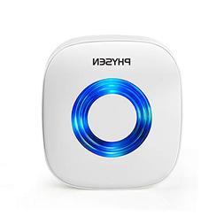 PHYSEN Wireless Doorbell Kit Self Learning Code Plug-in Door