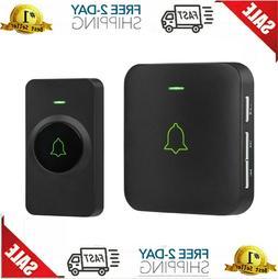 Wireless Doorbell, AVANTEK Mini Waterpoof Door Bell Kit Oper