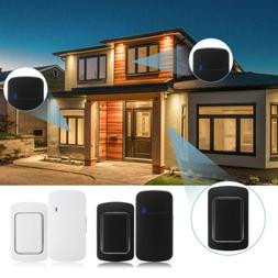 wireless doorbell no battery required door bells