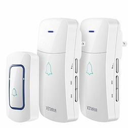 AVANTEK Wireless Doorbell Operating at Over 1300 Feet with 2