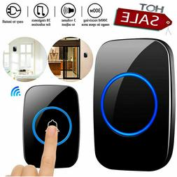 Wireless Doorbell, Plug and Play Waterproof Door Bell Kit Ad