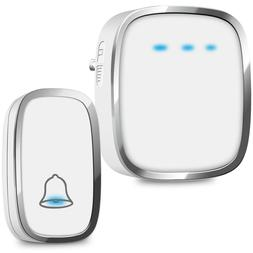 Wireless Doorbell, Kasonic Plug and Play Waterproof Door Bel