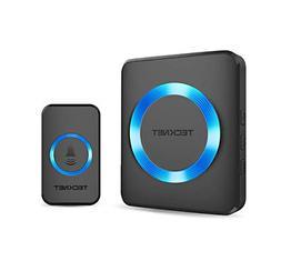 Wireless Doorbell, TeckNet Plug-in Cordless Door Chime Kit w