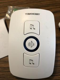 Wireless Doorbell, TeckNet Remote Plug in Wireless Door Bell