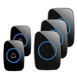 Wireless Doorbell, 1PlusOne Waterproof Door Chime Kit Includ