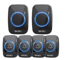 Wireless Doorbell Waterproof 300M Remote EU UK US Plug smart