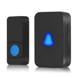 Wireless Doorbell Waterproof 55 Melody 1 2 Transmitters+1 2