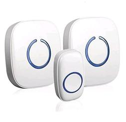 Wireless Doorbell Waterproof Battery Operated For Home Chime