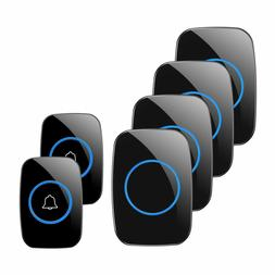 Wireless Doorbell, 1PlusOne Waterproof Door Chime Kit Includ