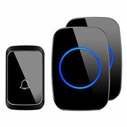 Wireless Doorbell, Waterproof Door Chime Kit Operating at Ov