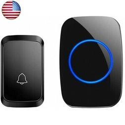Wireless Doorbell, Waterproof Door Chime Kit Operating at Ov