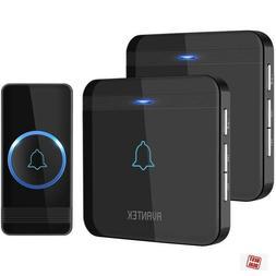 Avantek Wireless Doorbell Waterproof Door Chime Kit Plug In