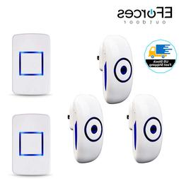 Wireless Doorbell Waterproof Electric Door Entry Bell with 3