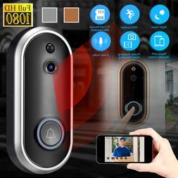 Wireless Doorbell WiFi Smart Door Bell IR Video Visual Camer