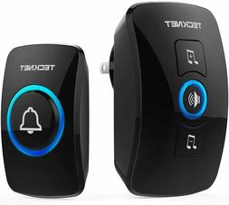 Wireless Doorbell, TeckNet Waterproof Wireless Door Bell Chi