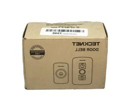 Wireless Doorbell, TeckNet Wireless Door Bell Chime Kit with