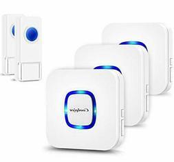 Coolqiya Wireless Doorbell with 2