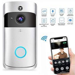 Wireless Video Doorbell, Womdee Smart Wireless Doorbell Remo