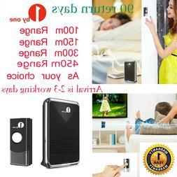 1Byone Wireless Doorbells Chime Loud Waterproof Long Range R