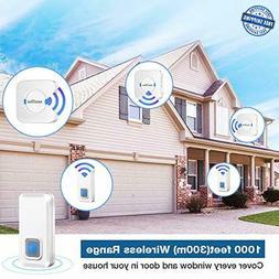 wireless doorbells for home ring wireless door