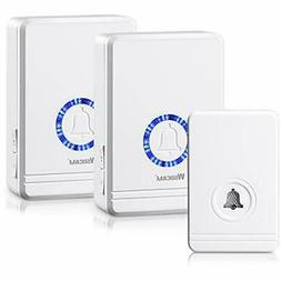 wireless doorbells for home waterproof battery operated