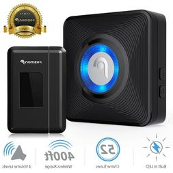 Fosmon Wireless Entry Alert Doorbell - 52 Ringtones