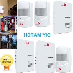 1byone Wireless Home Plug in Doorbell Motion Sensor Alarm 36