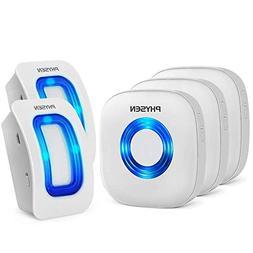 Physen Wireless Home Security Driveway Alarm,Motion Sensor D