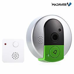 Wireless Home Security IP Camera Two Way Audio smart Doorbel
