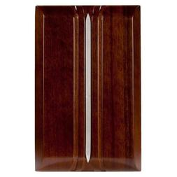 Hampton Bay Wireless or Wired Door Bell in Dark Oak Wood Chi