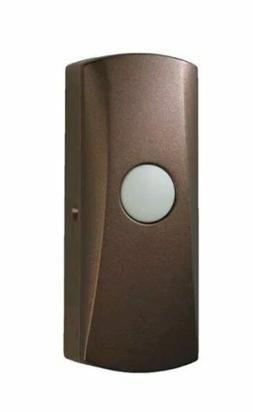 NuTone Wireless Pushbutton, Oil Rubbed Bronze