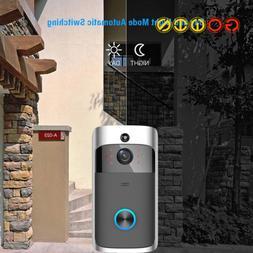 Wireless Smart Doorbell Camera WiFi Remote Video Home Securi