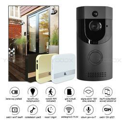 Wireless Smart Doorbell WiFi Phone Video Intercom Bell Camer