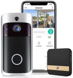 Wireless Smart DoorBell WiFi Video Phone Door Bell Two-Way T