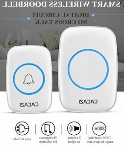 Wireless Smart Home Doorbell  Waterproof Calling Bell 300M R
