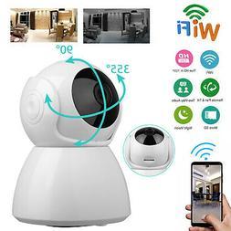 Wireless Pan Tilt Security 720P Network CCTV IP Camera Night