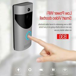 Wireless Smart WiFi DoorBell IR Video Visual Camera Intercom