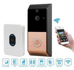 Wireless Video Doorbell 720P WiFi Doorbell Security Camera w