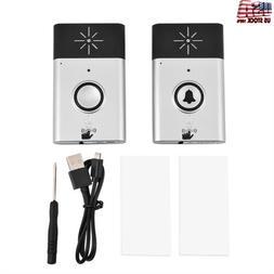 Wireless Voice Intercom Doorbell Portable Door Bell Home Off