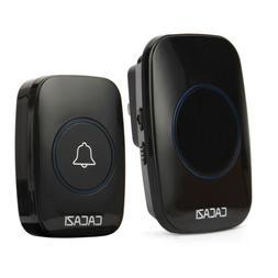 Wireless Doorbell Battery Operated Door Bell with Transmitte
