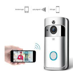 Wireless WiFi Video Doorbell Smart Phone Door Ring Intercom