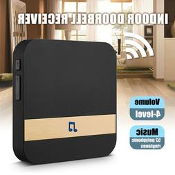 US/UK/EU Plug Wireless WiFi Doorbell Chime Ding-Dong Visual