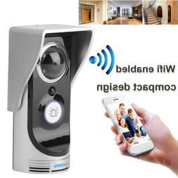 wireless wifi doorbell remote video camera phone