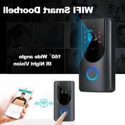 Wireless WiFi DoorBell Smart Video Phone Door Visual Ring In