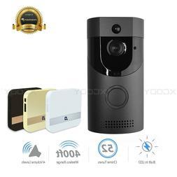 Wireless WiFi DoorBell Smart Video Phone Visual Intercom Doo