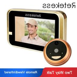 Wireless Wifi/IP Remote Video Unlock Camera Phone Intercom V
