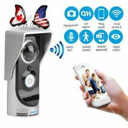 Wireless WiFi Remote Smart Doorbell Video Camera Intercom Al