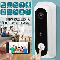 Wireless WiFi Smart DoorBell Video Phone Door Visual Interco
